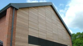 Exterior Wall Cladding Aluminum Composite Metal Rainscreen Cladding Uk