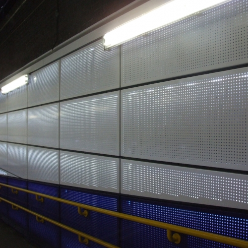 Cricklewood Perforated Cassette Cladding