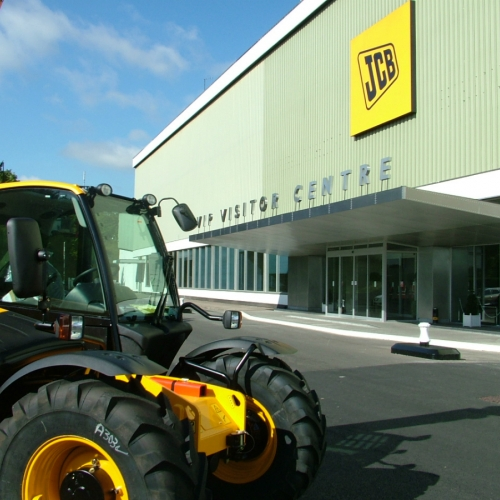 JCB Visitor Centre - Rocester, Staffs