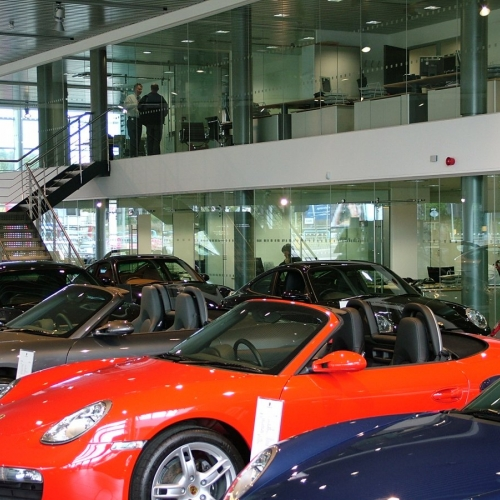 Porsche Centre - City West Business Park - Leeds