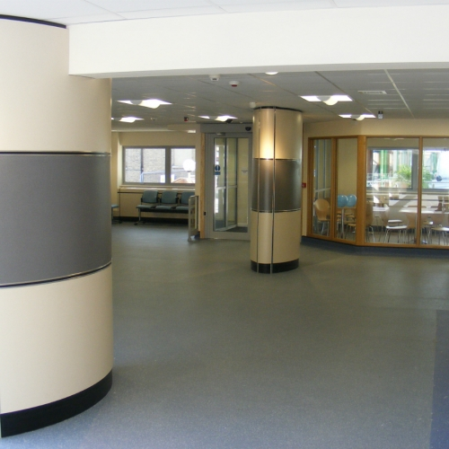 Royal South Hants Hospital - Southampton - Column Casings