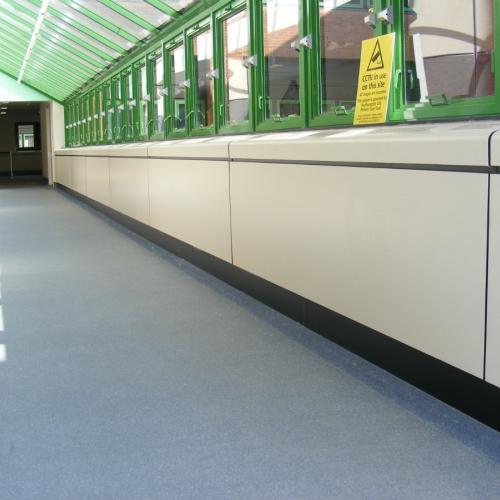 Royal South Hants Hospital - Southampton - Perimeter Casings